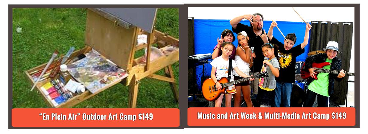 Art summer camps